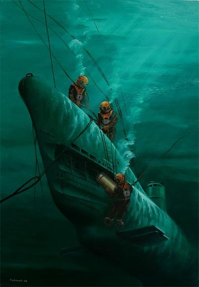 автономное плавание атомных подводных лодок